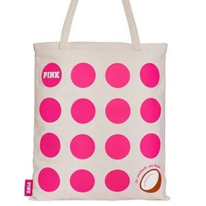 PINK Victoria Secret Coconut Day Logo Tote Bag